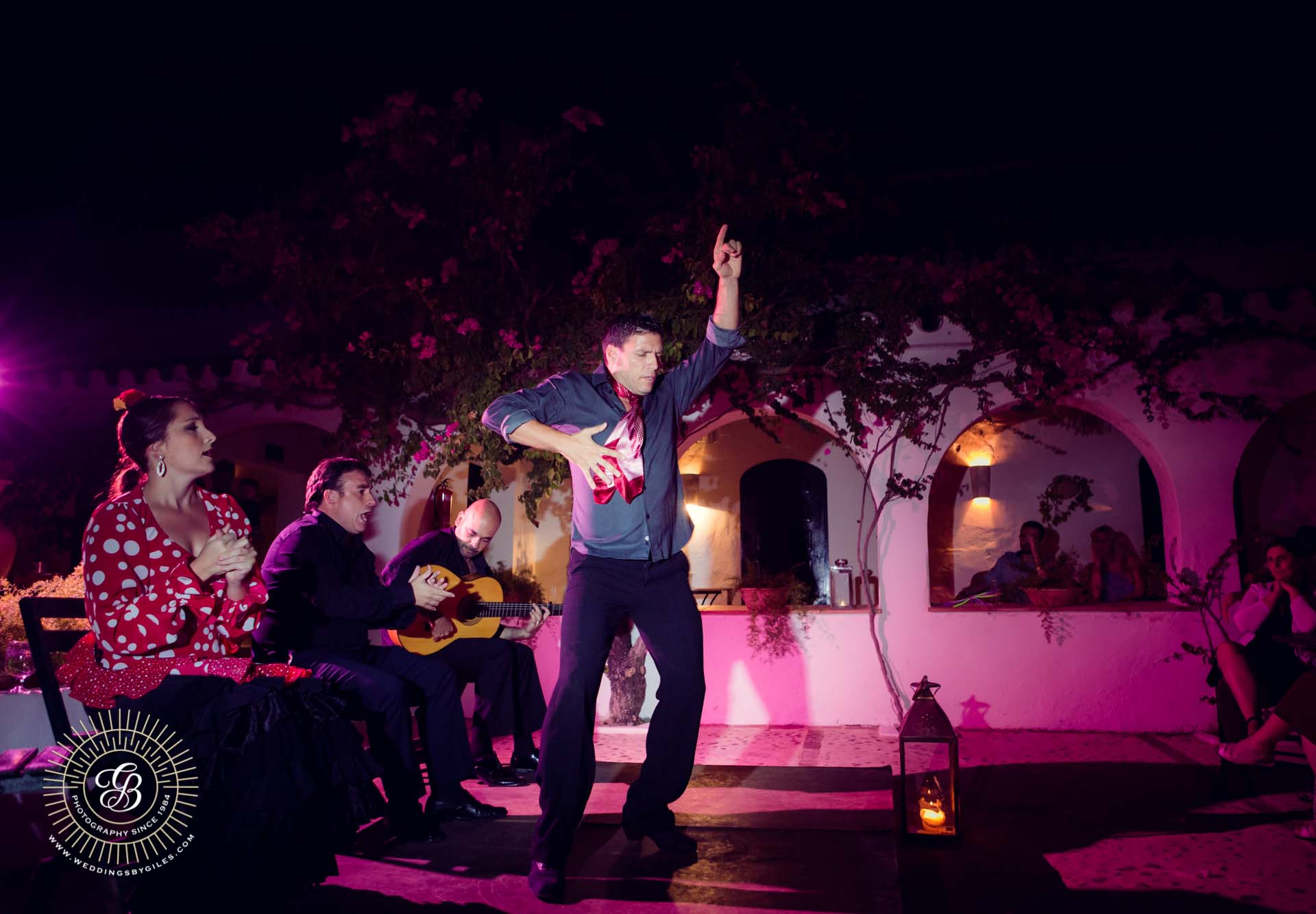 flamenco show at hacienda de san rafael