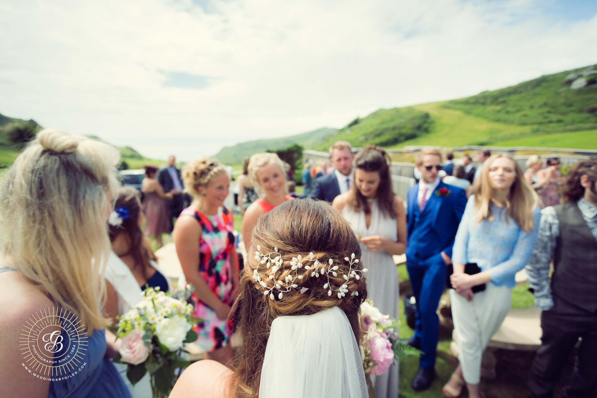 Wedding at Sore Mill Cove Salcombe