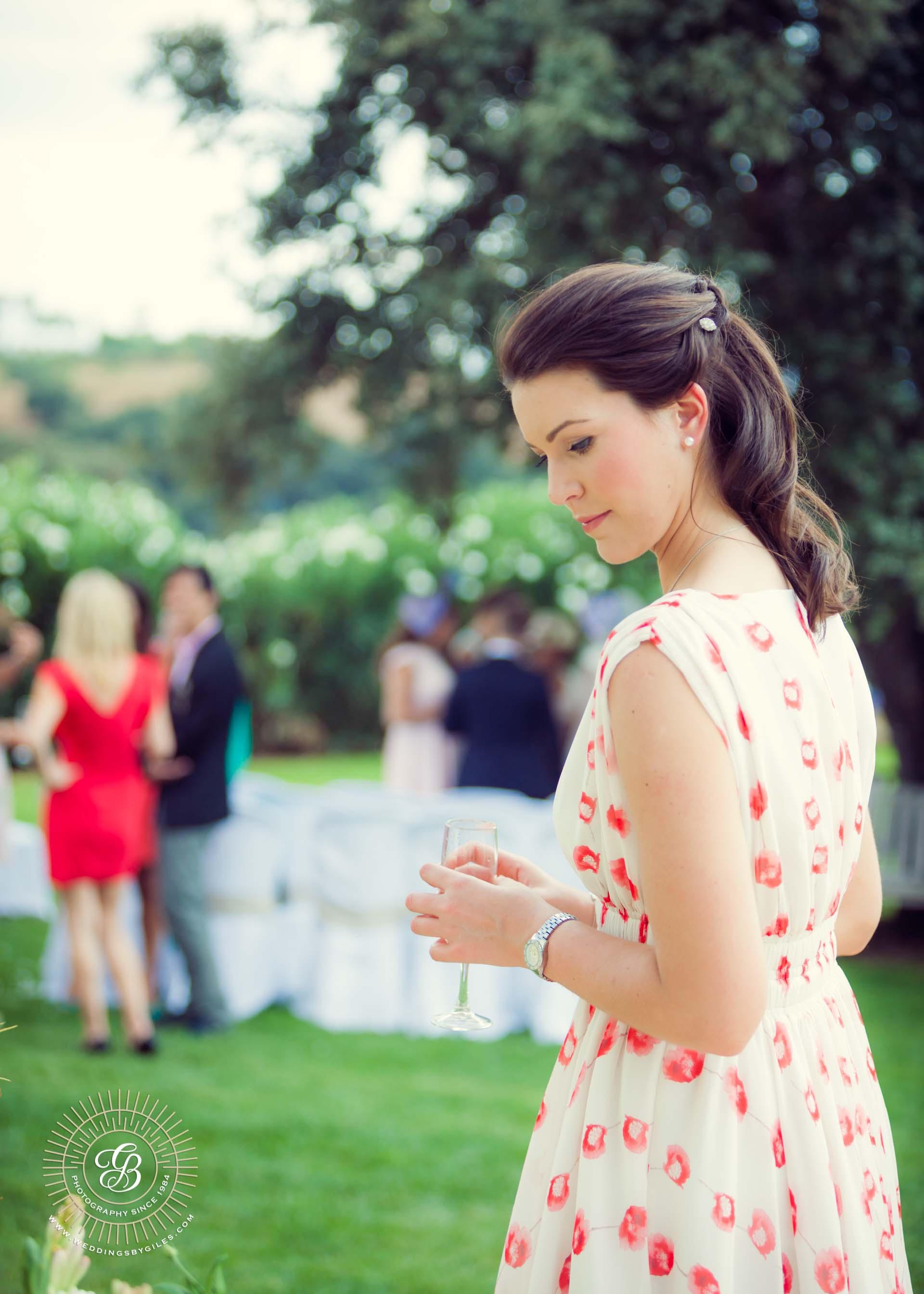 34_bridesmaid in garden wedding