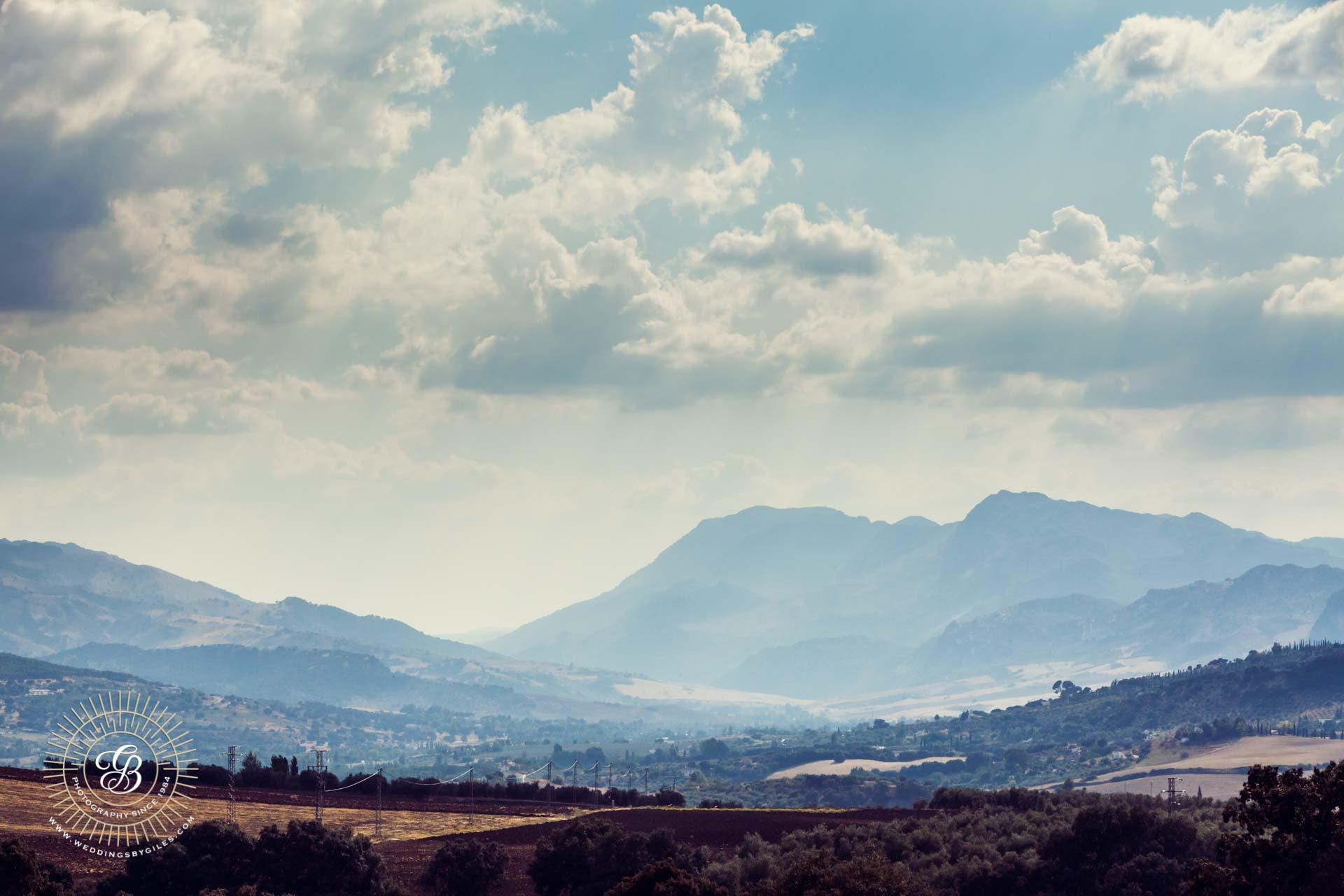 hills of Andalucia near Ronda
