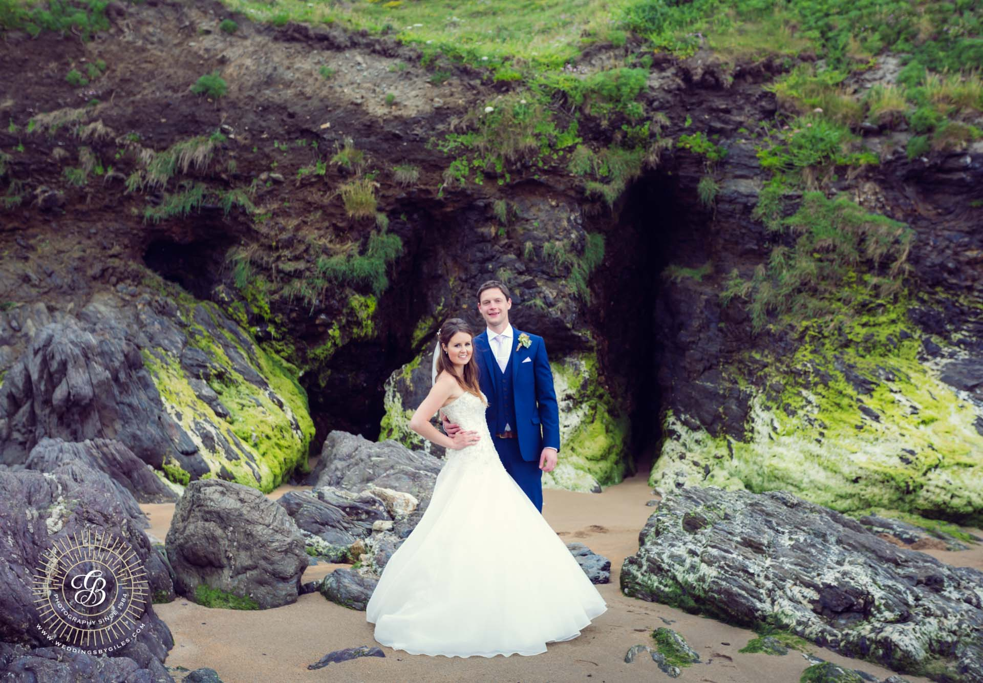 Devon Beach wedding photo shoot