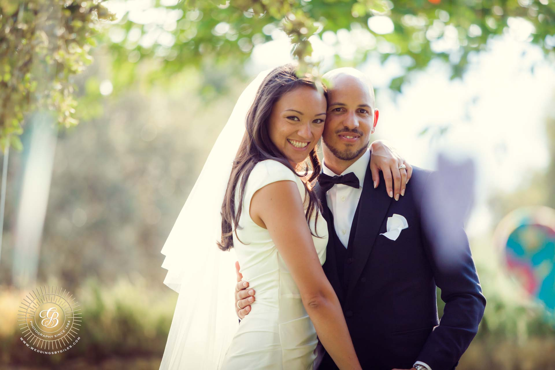bride and groom portrait in andalucia