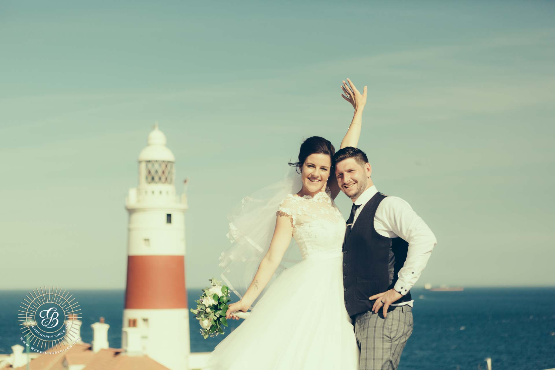 Wedding Photography at Europa point, Gibraltar