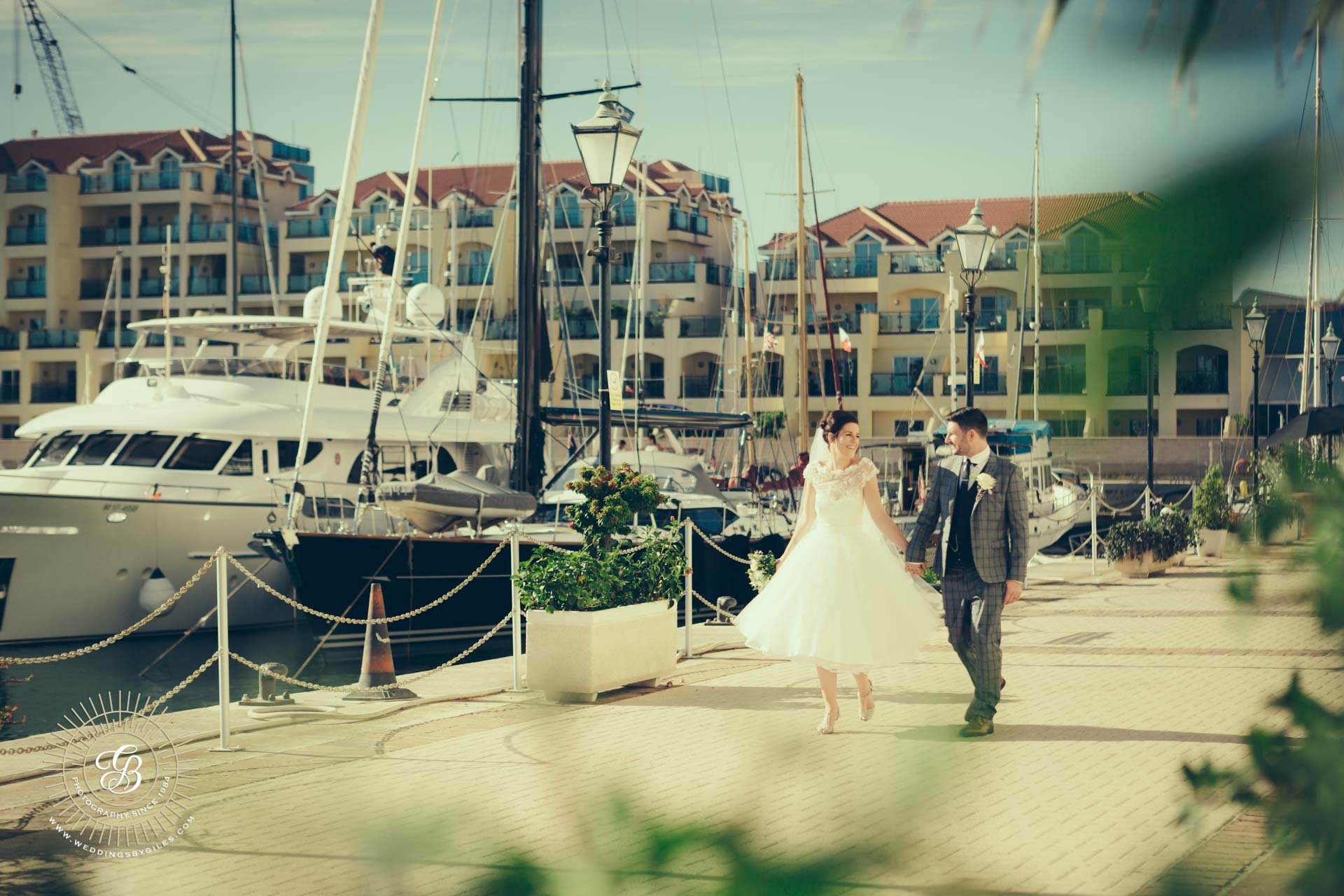 Wedding Photography at Queens Way Quay Gibraltar