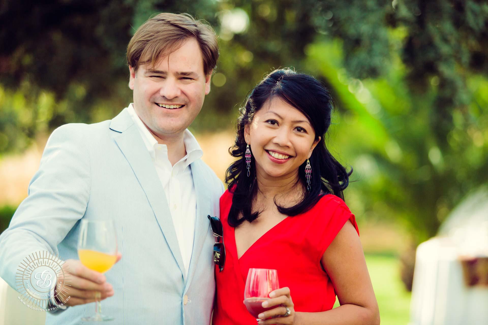 Sunny garden wedding in spain