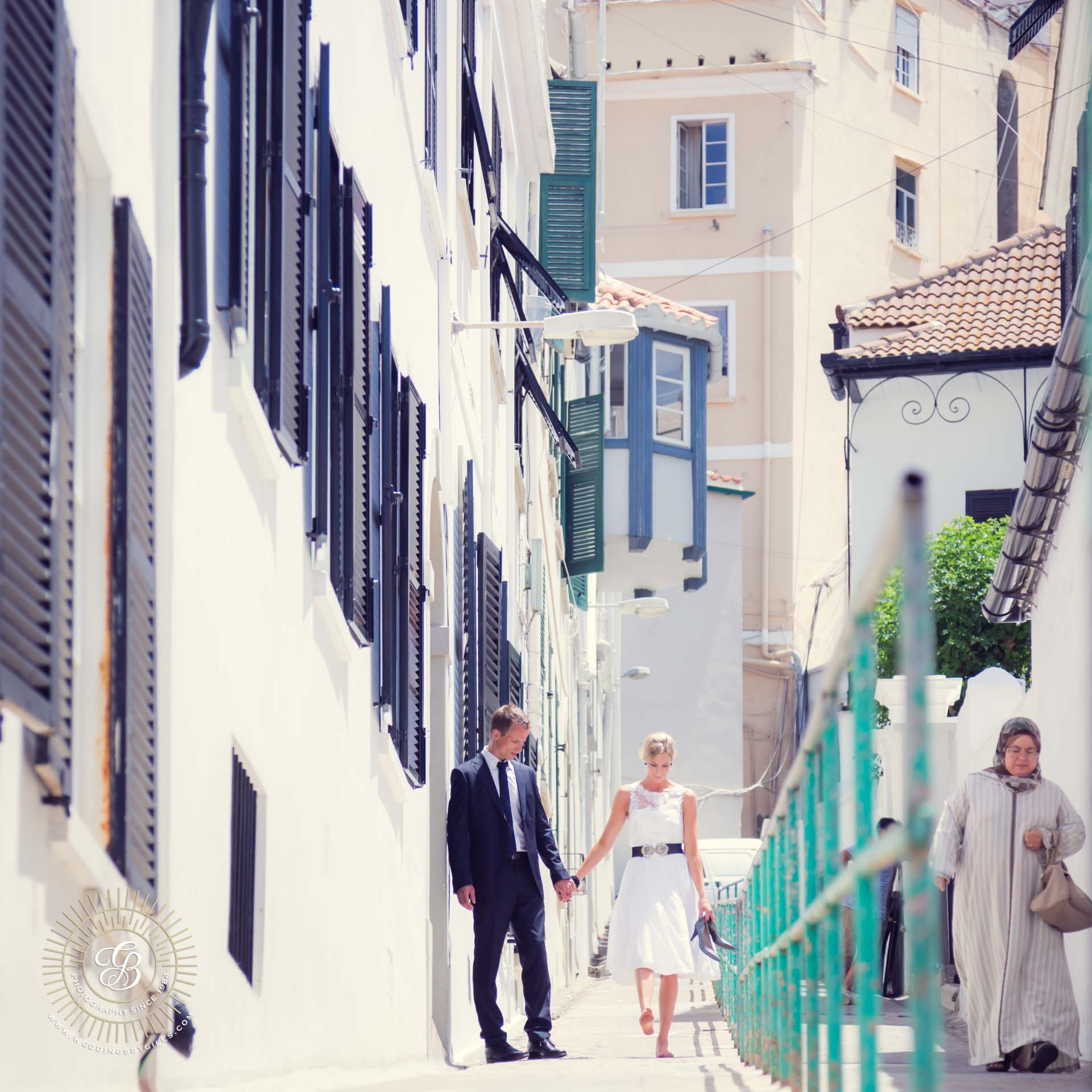 Gibraltar Wedding shoot