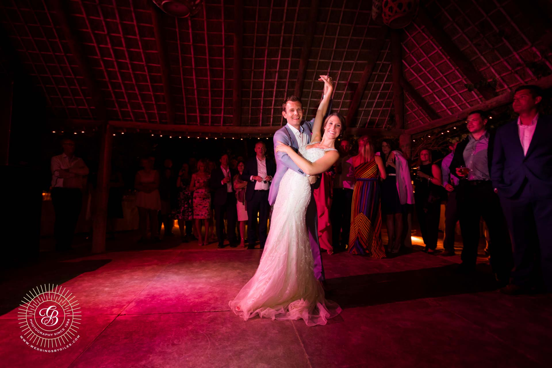 The first dance at Hacienda de San Rafael