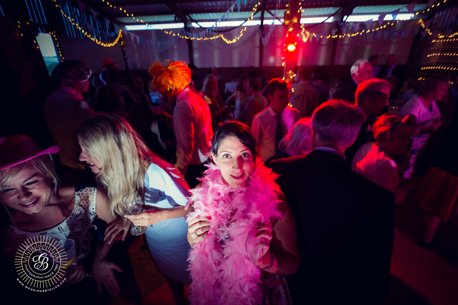 feather boa photobooth prop