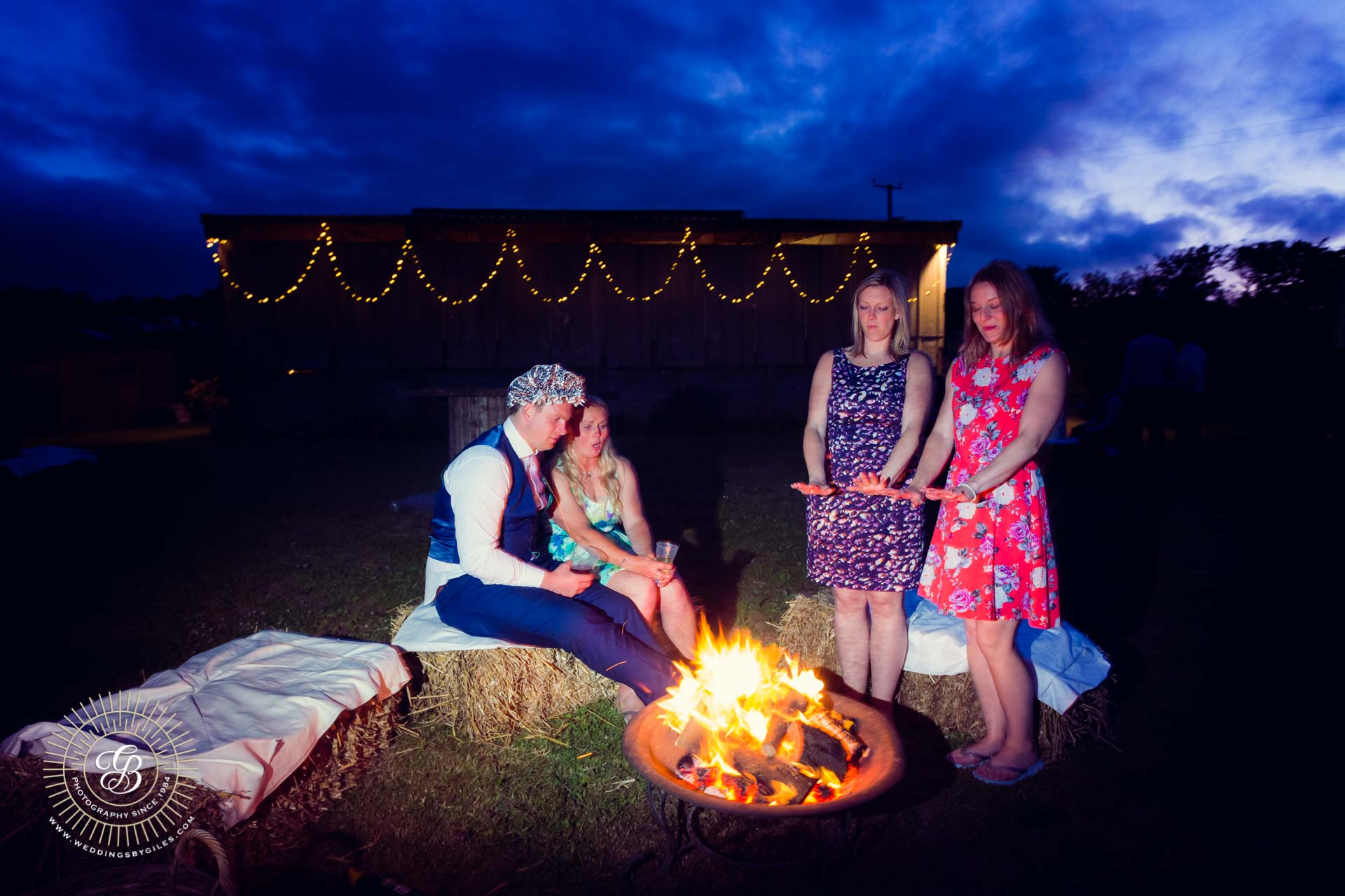 Wedding fire pit