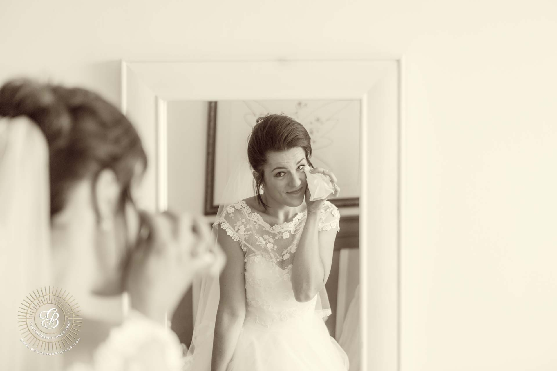 A brides tears