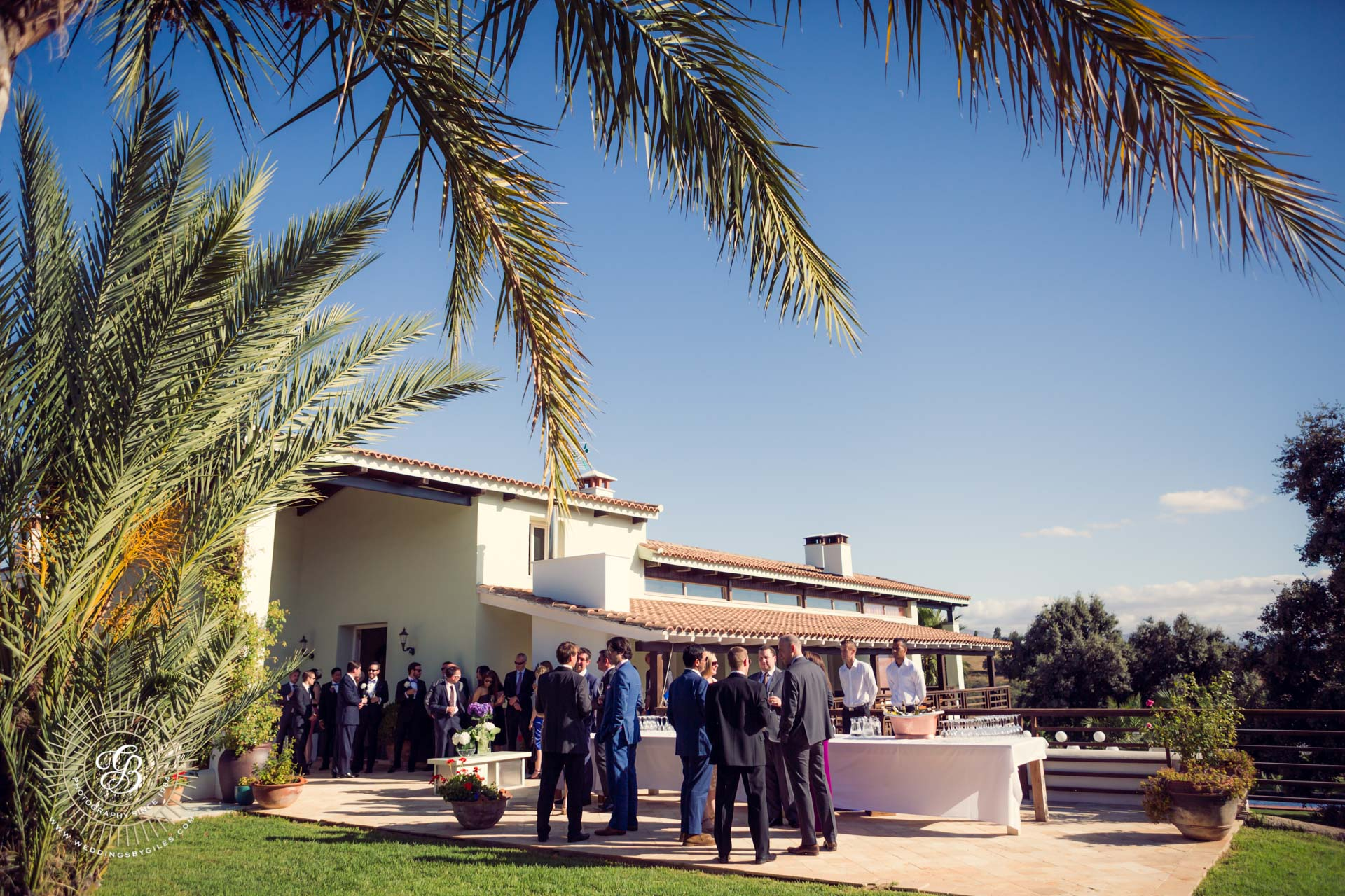 villa wedding in spain