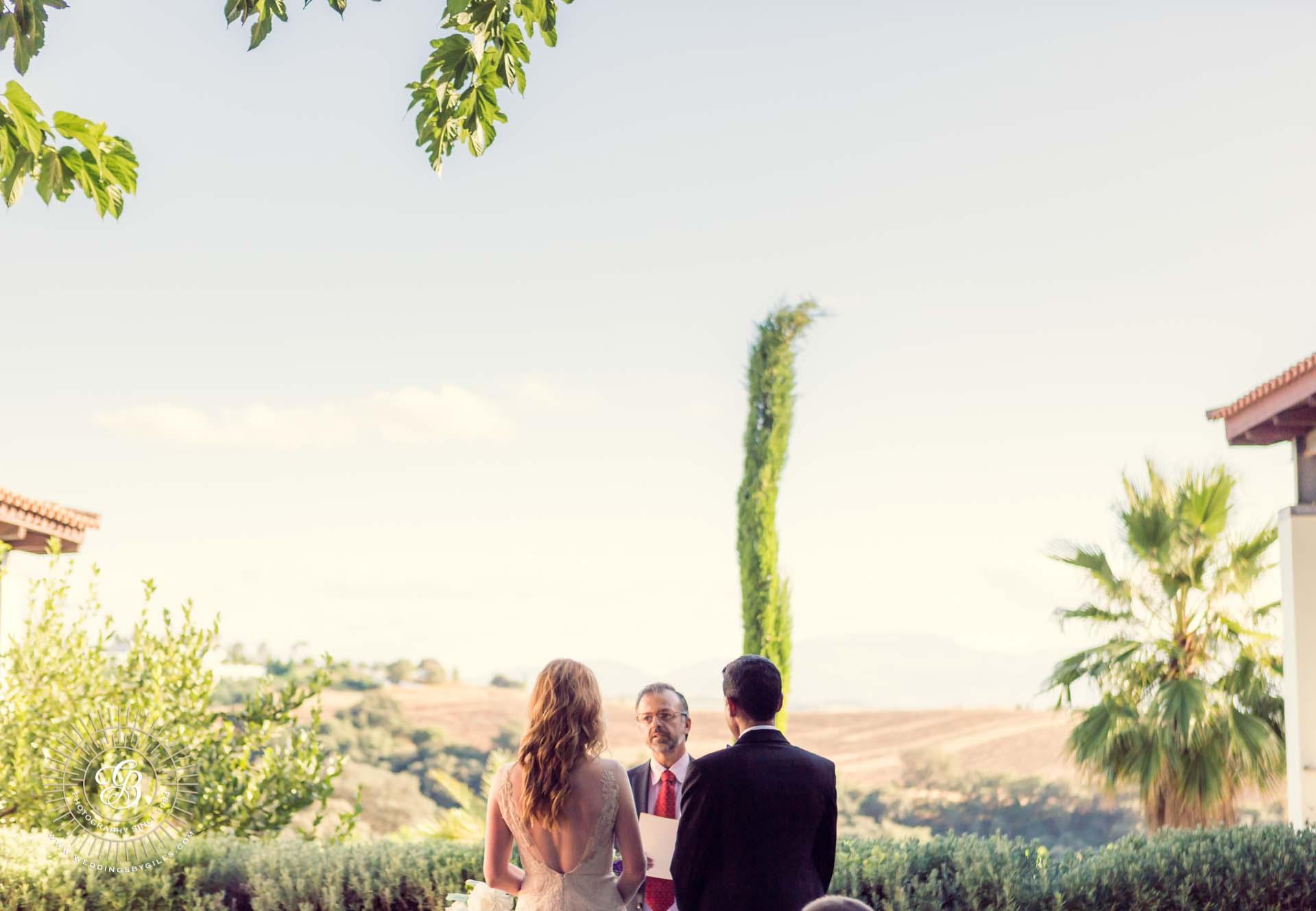 wedding ceremony at the lodge ronda