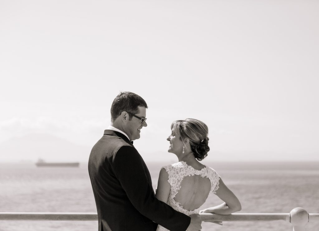 wedding shoot at Europa Point, Gibraltar