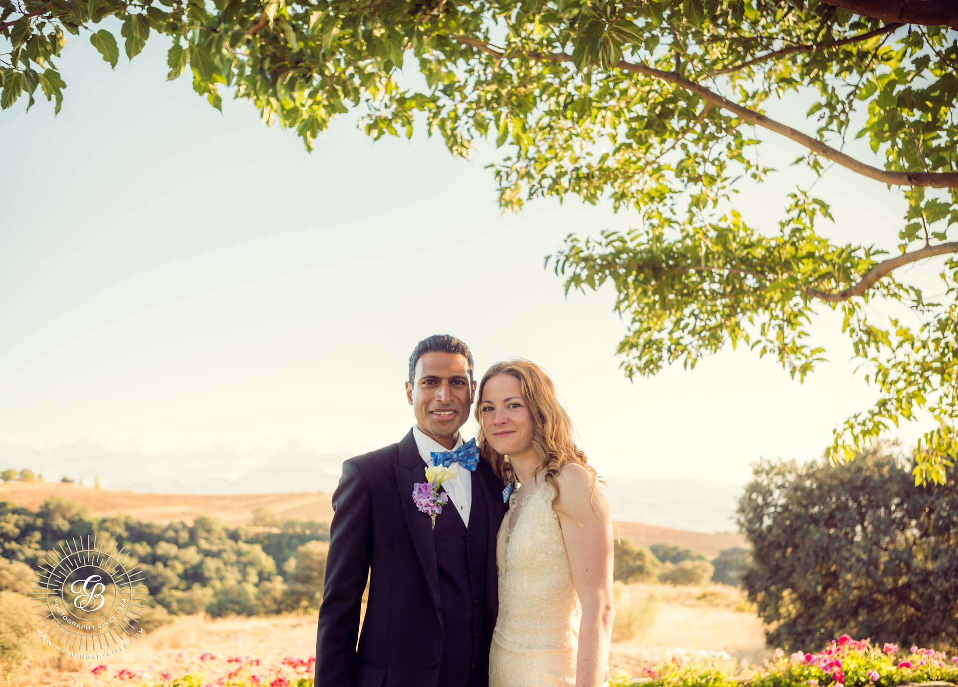 wedding portrait in spain