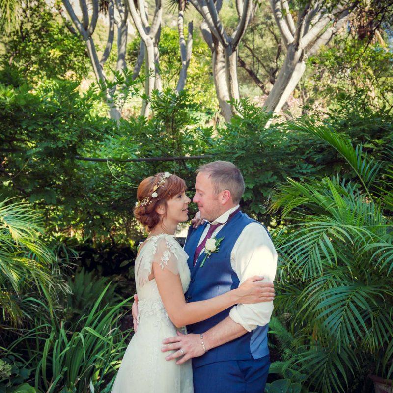 Alameda gardens Gibraltar wedding
