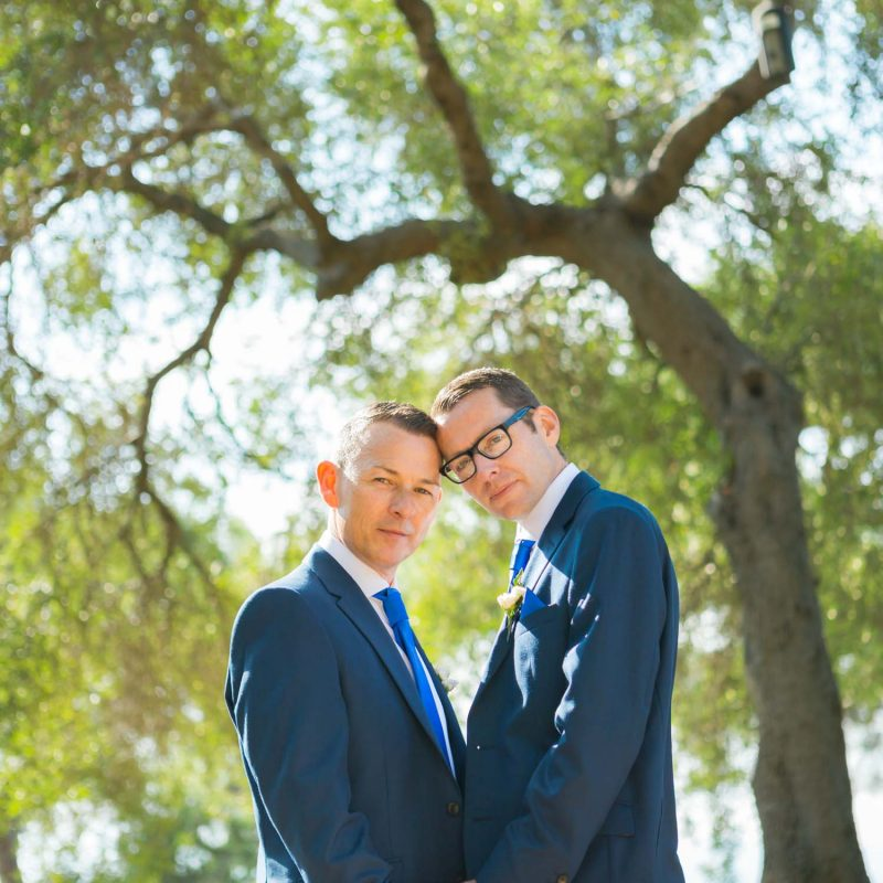 same-sex wedding photo review