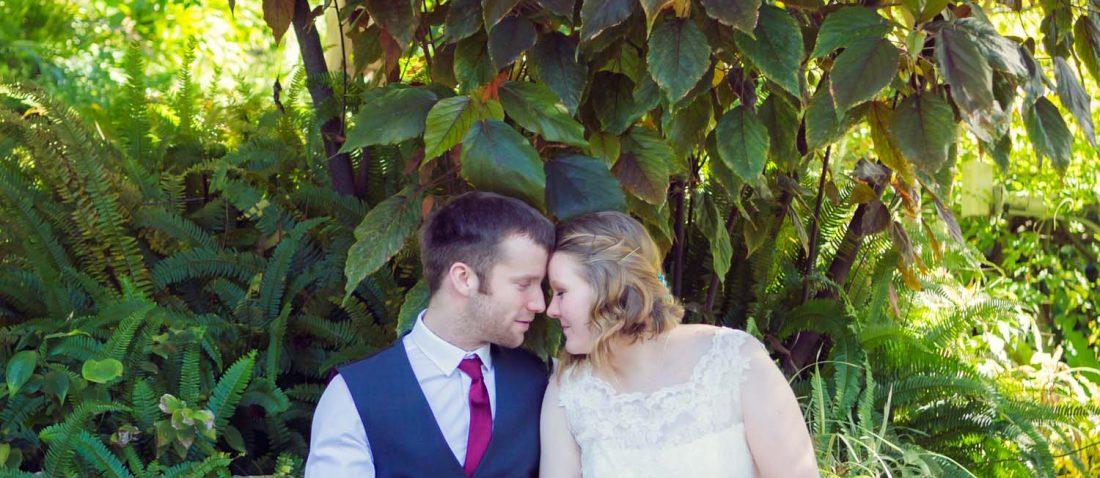 Alameda gardens wedding photo