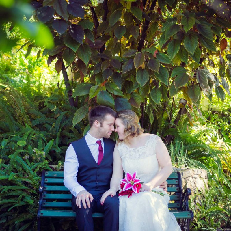 Alameda gardens wedding photo