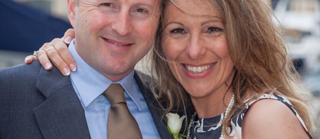 Bride and groom Testamonial