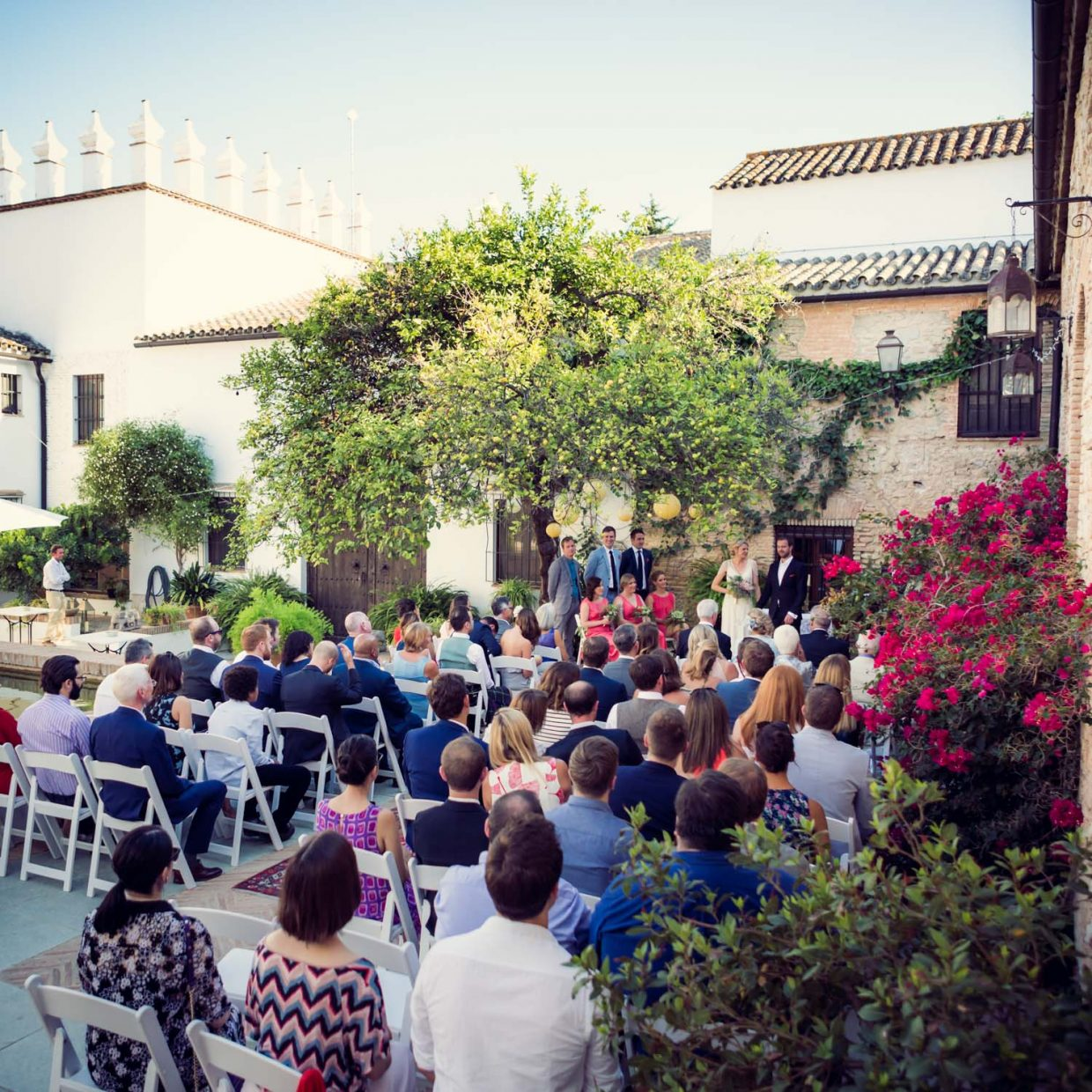 wedding in Andalucia at Faín Viejo