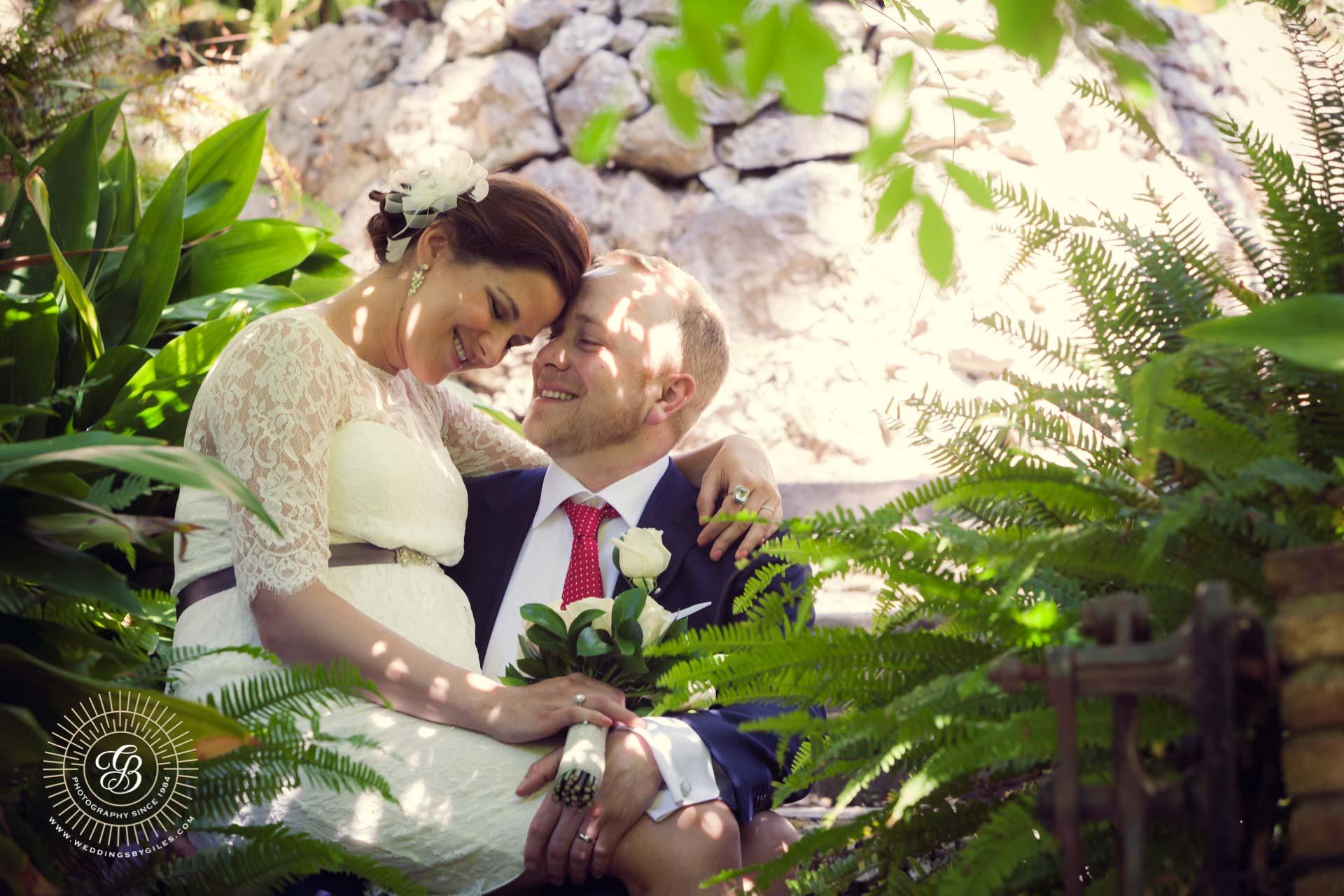 wedding portrait in Gibraltar