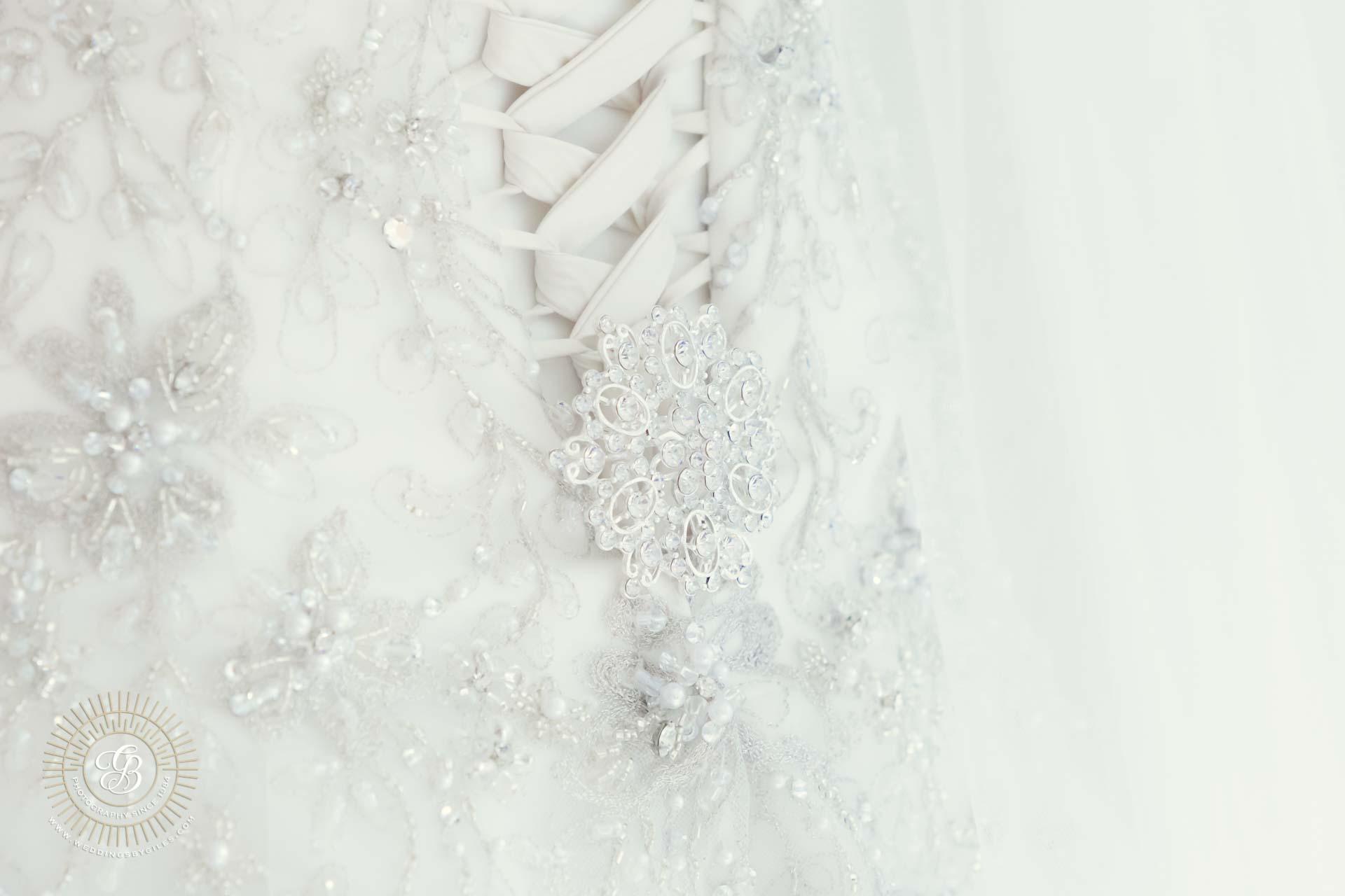 wedding dress pin