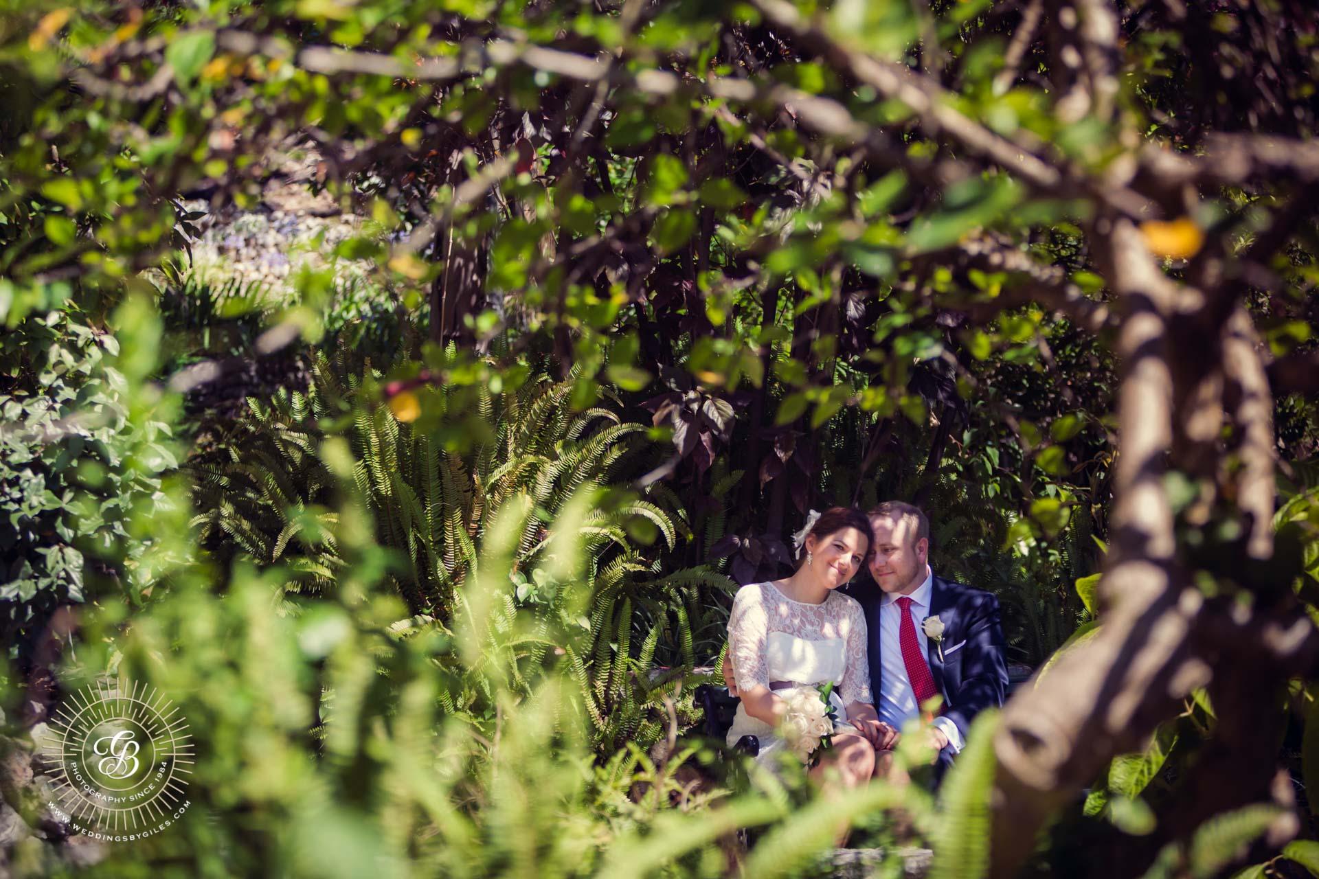 Alameda gardens wedding photo portrait