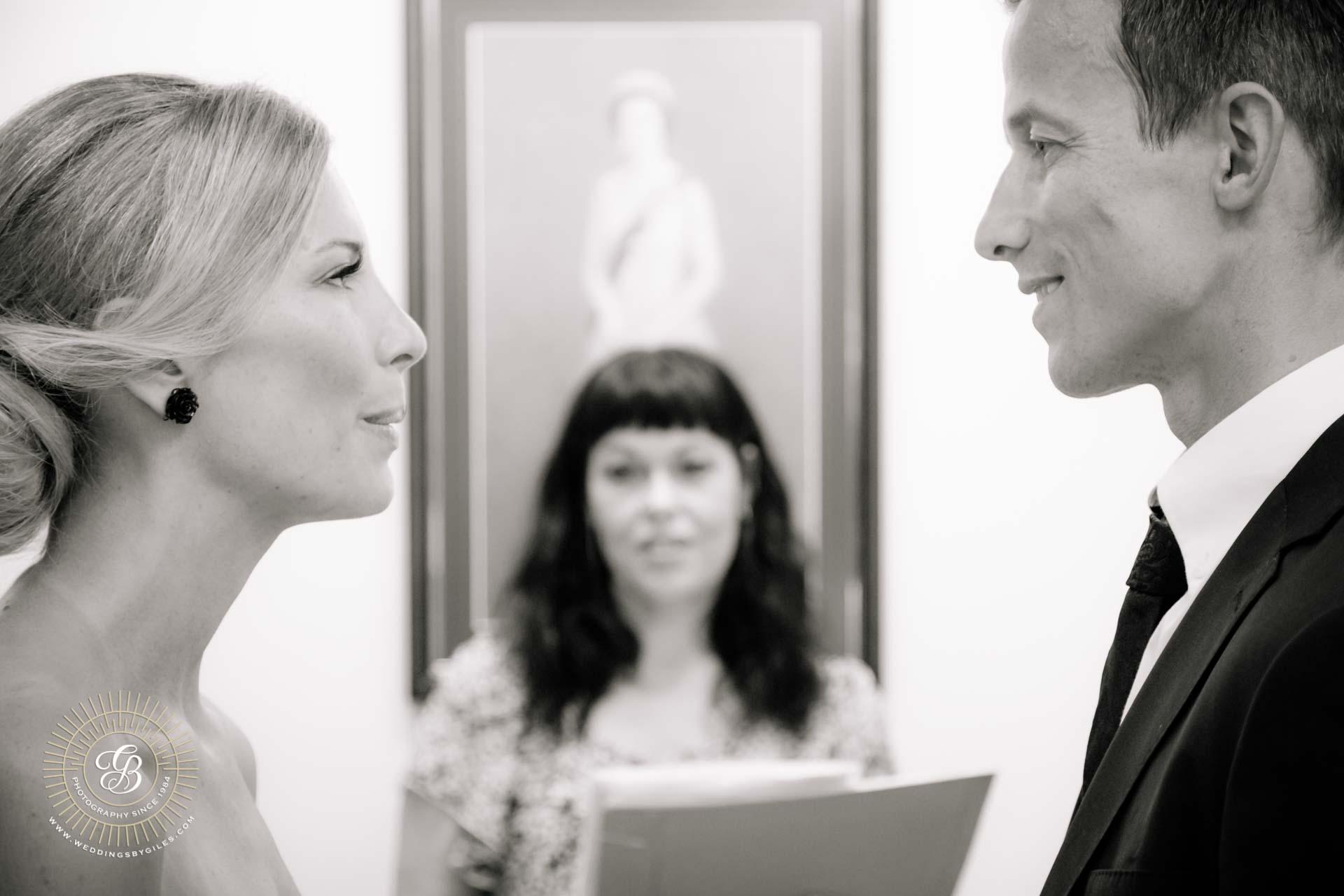 elopement in the Gibraltar registry office