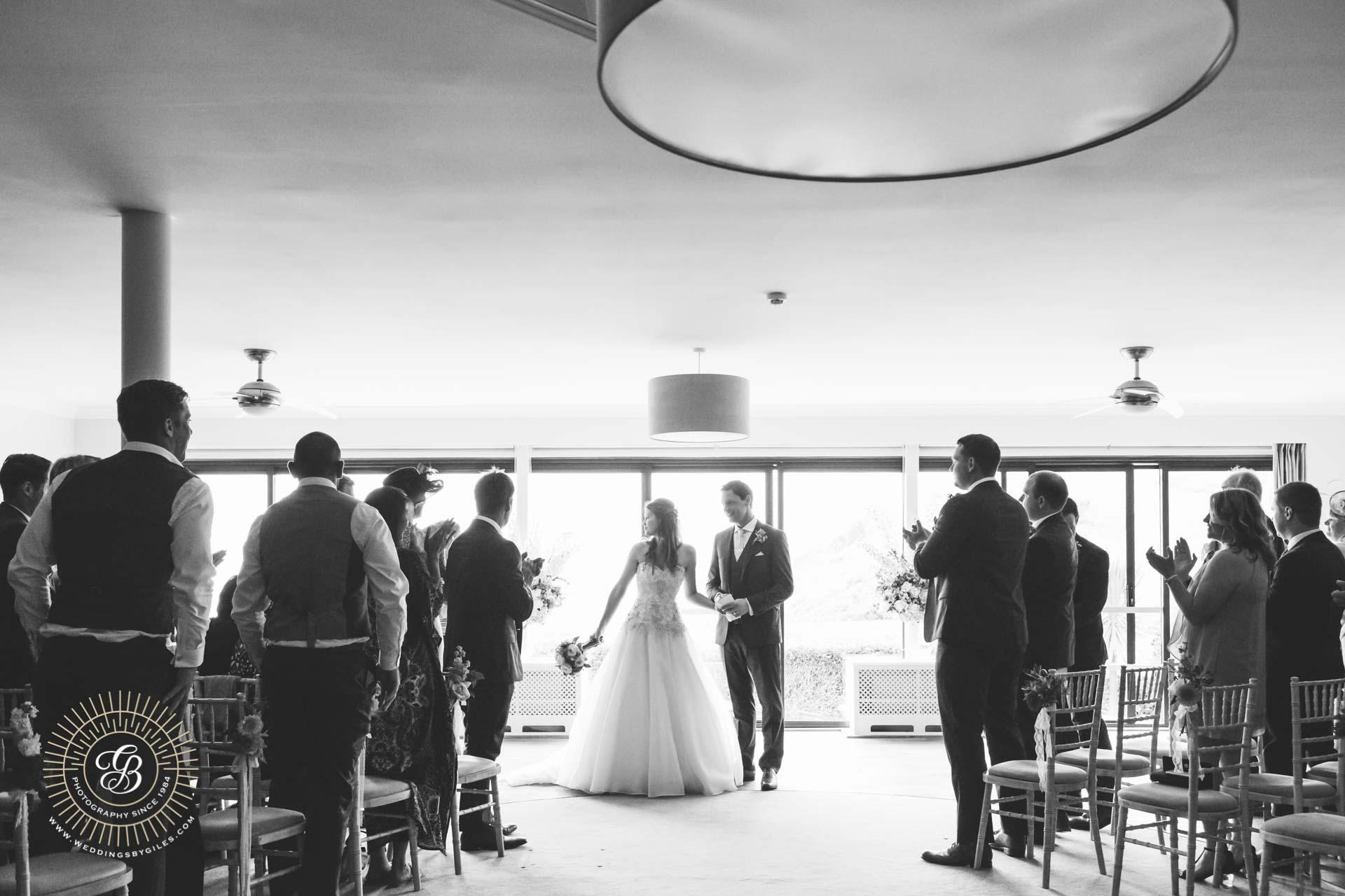 Soar Mill Cove Wedding Ceremony