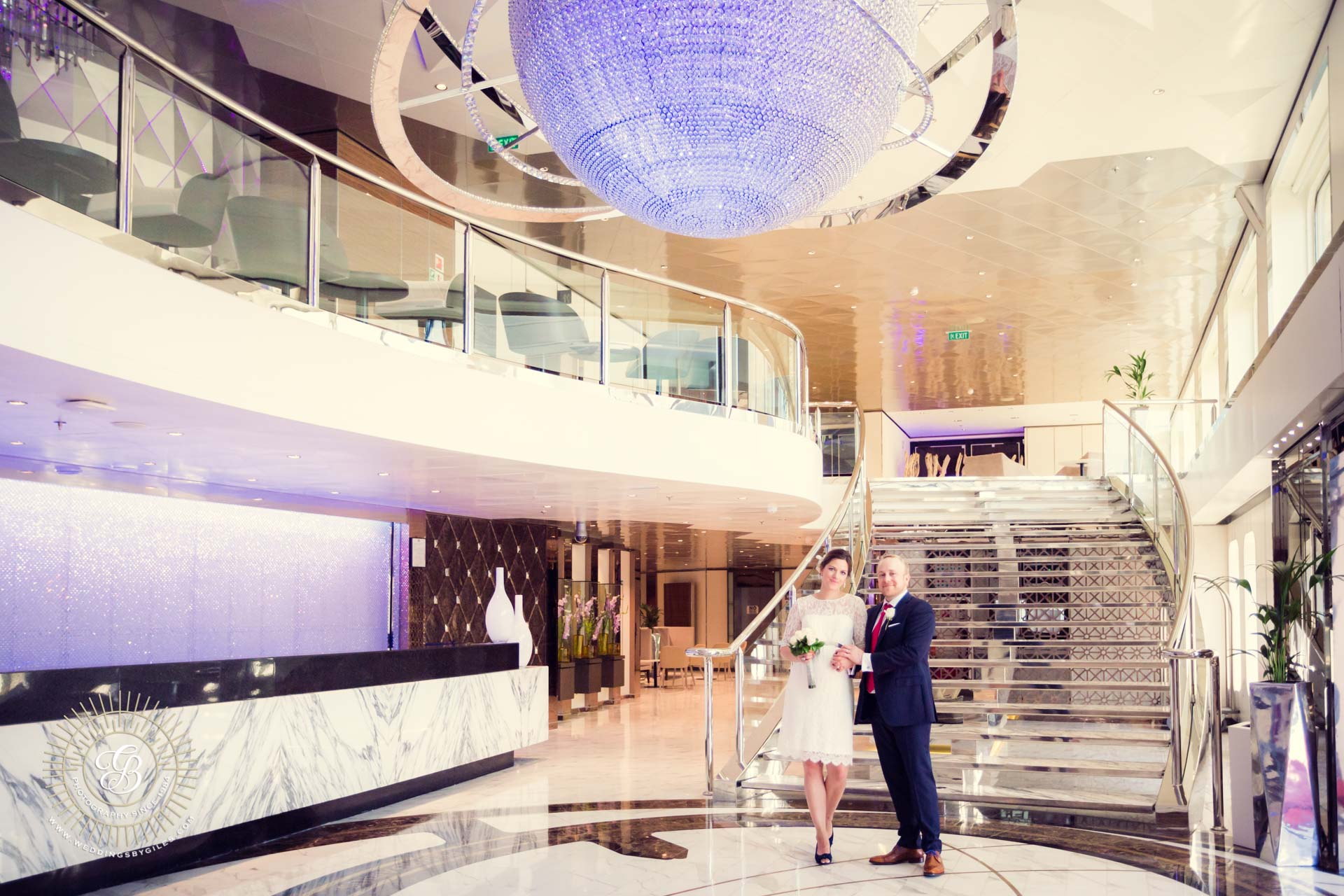 Wedding Photography at the Sunborn Hotel, Gibraltar