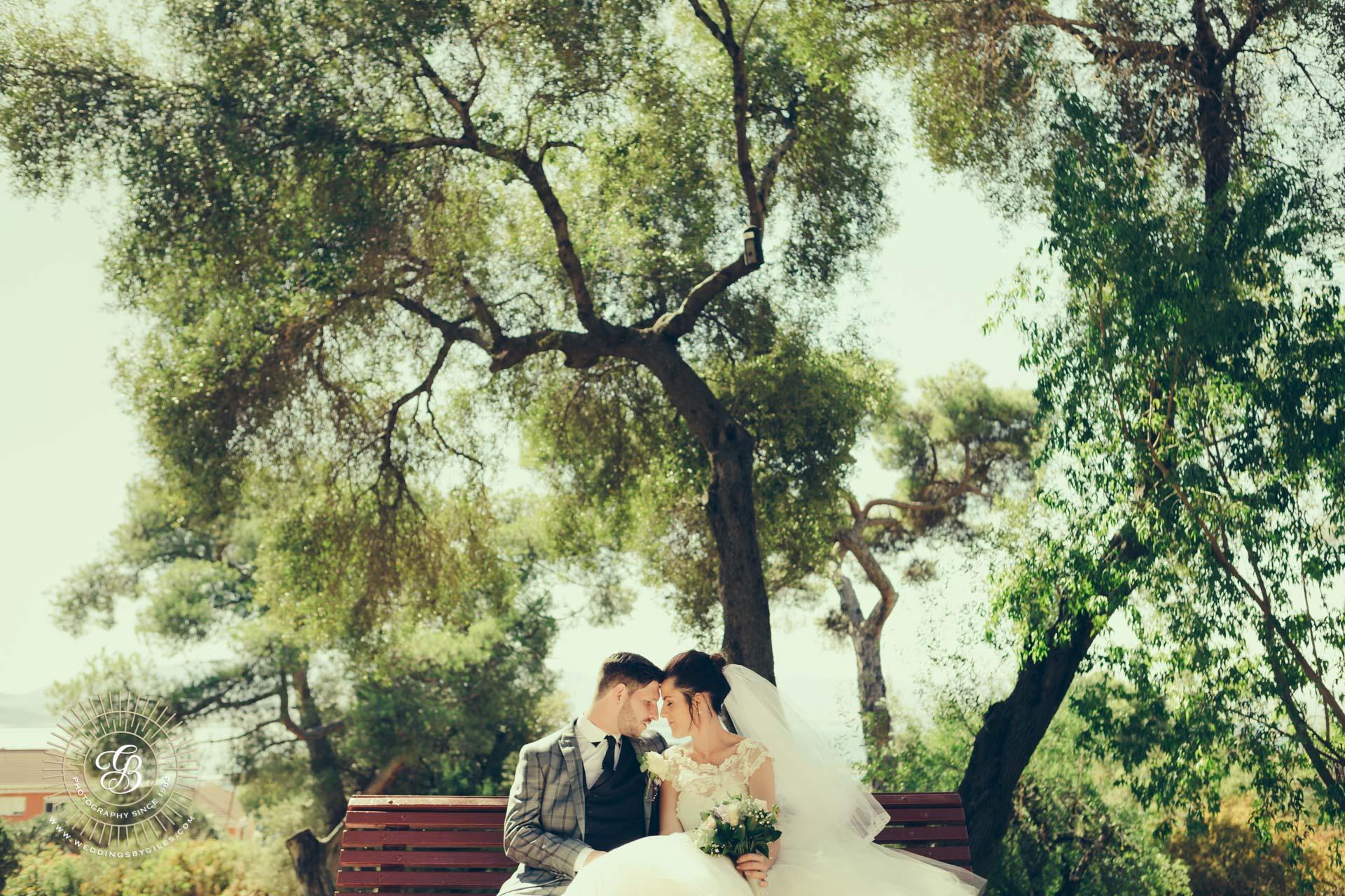 wedding portrait at the alameda gardens