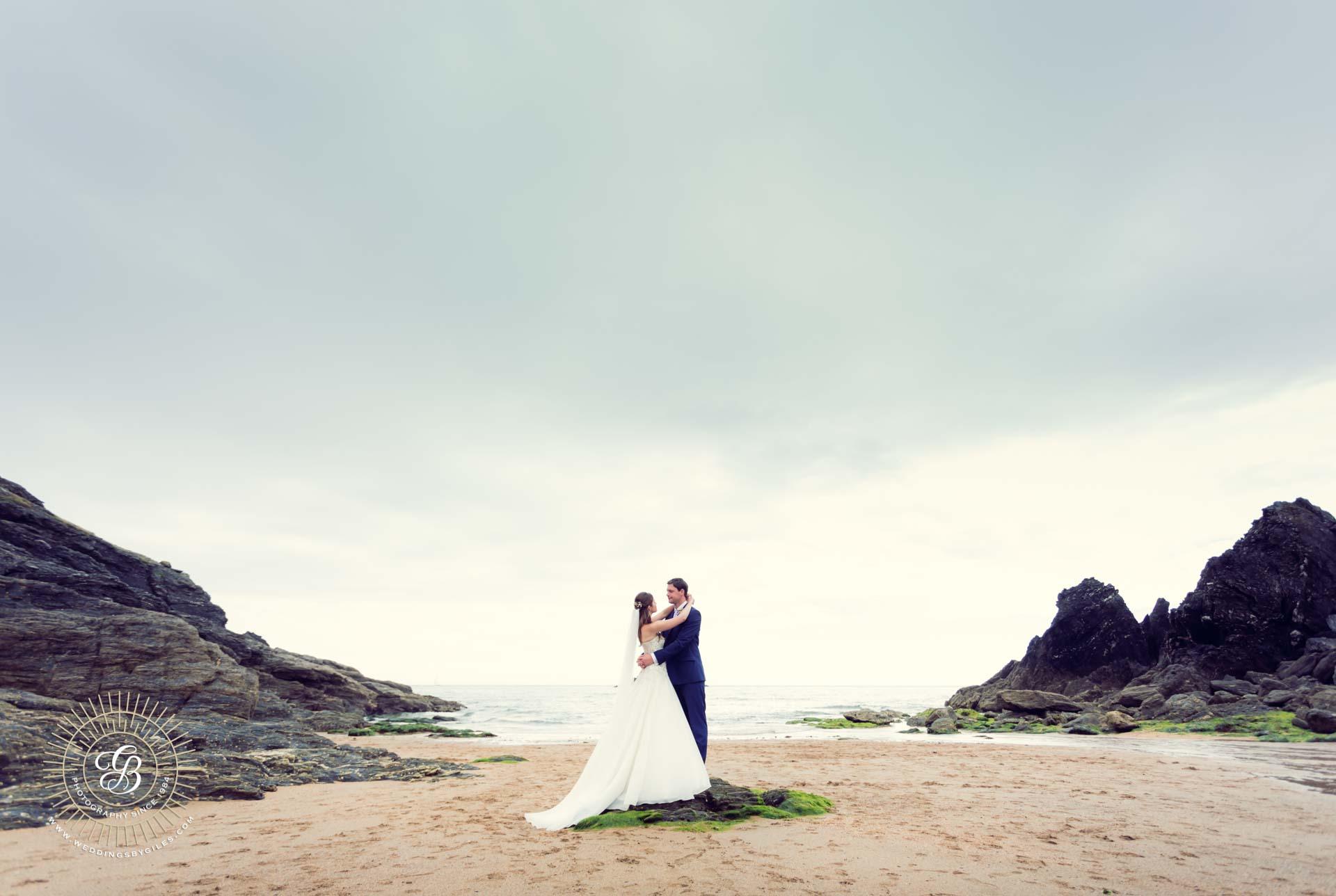 Devon Beach wedding photo shoot