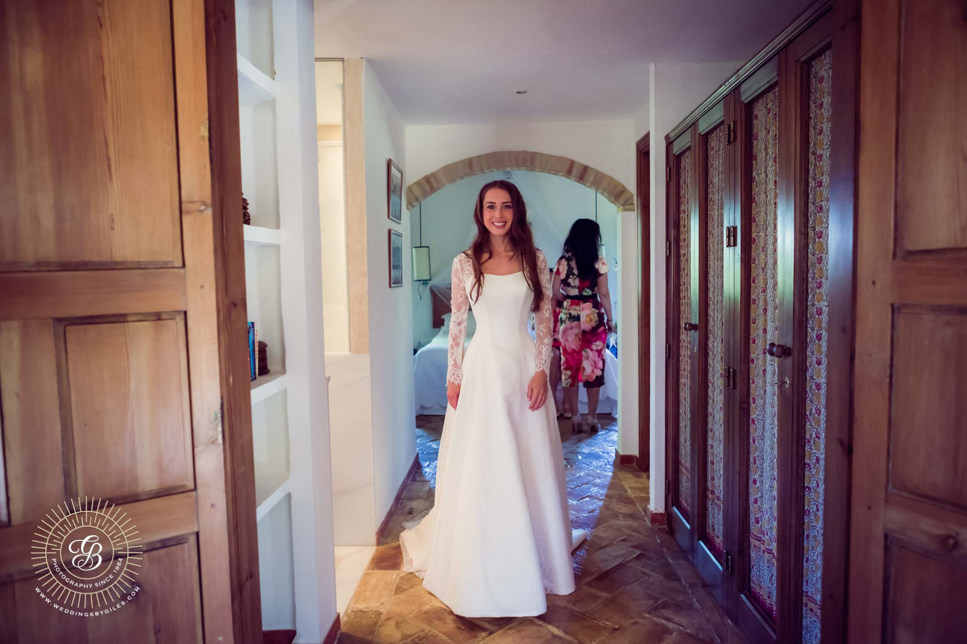 bride ready to get married