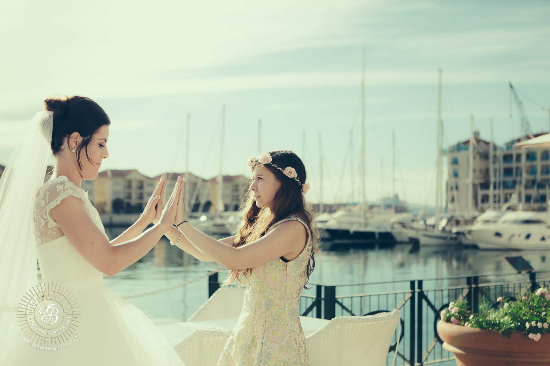 Wedding Photography at Queens Way Quay Gibraltar