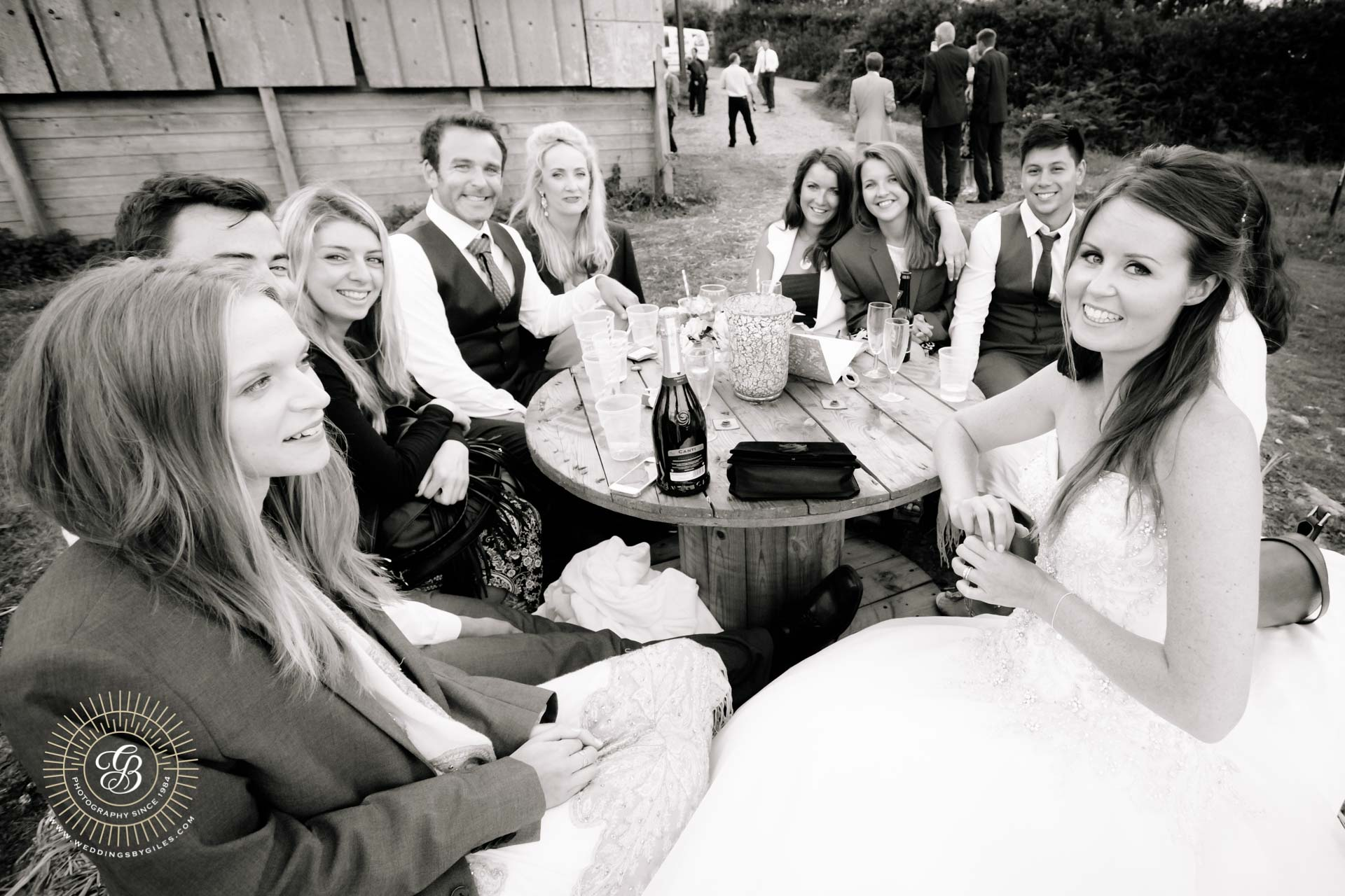barn wedding in Devon