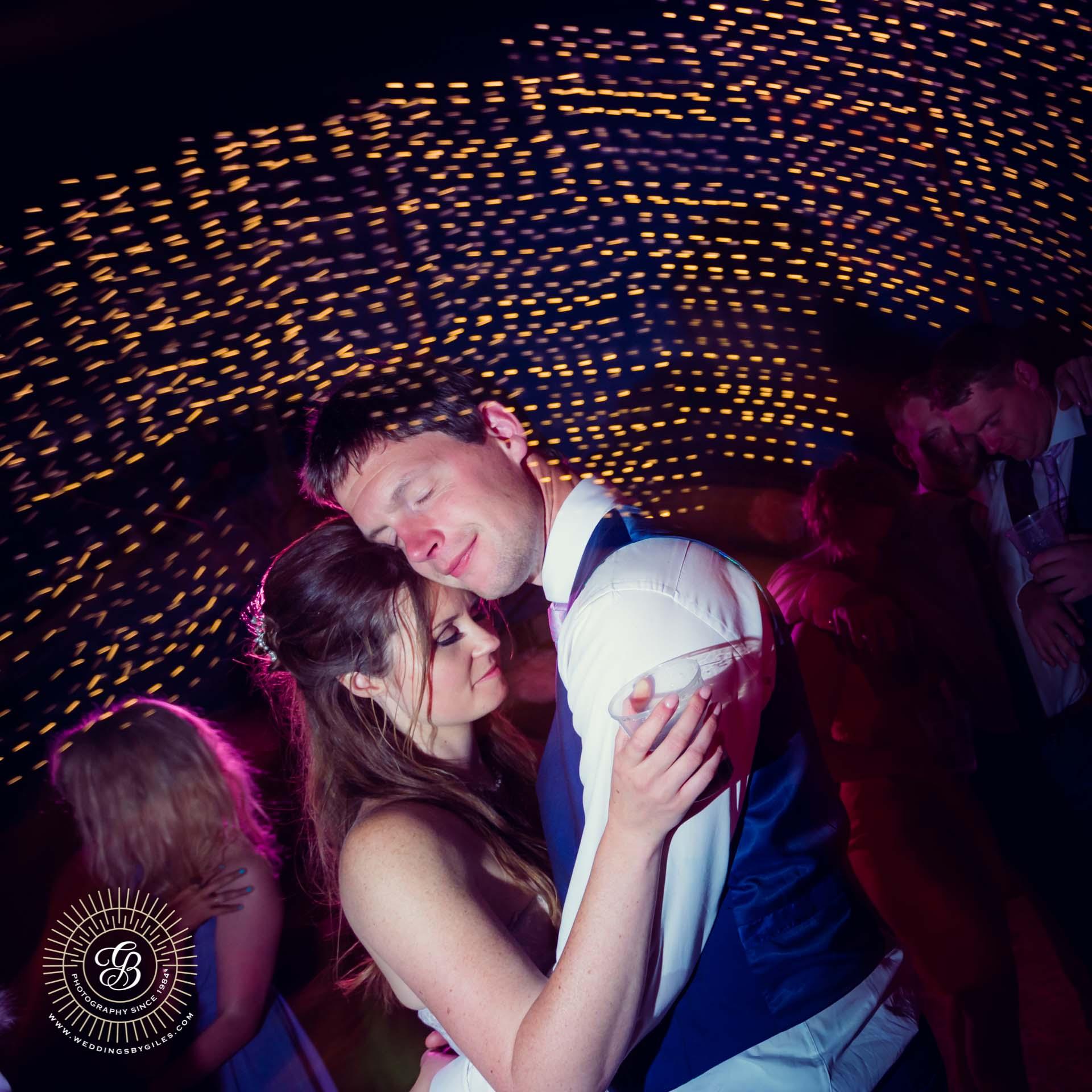 bride and groom's slow dance