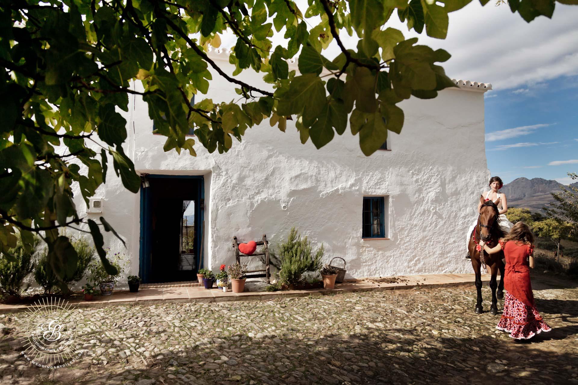 rustic andalucia wedding venue