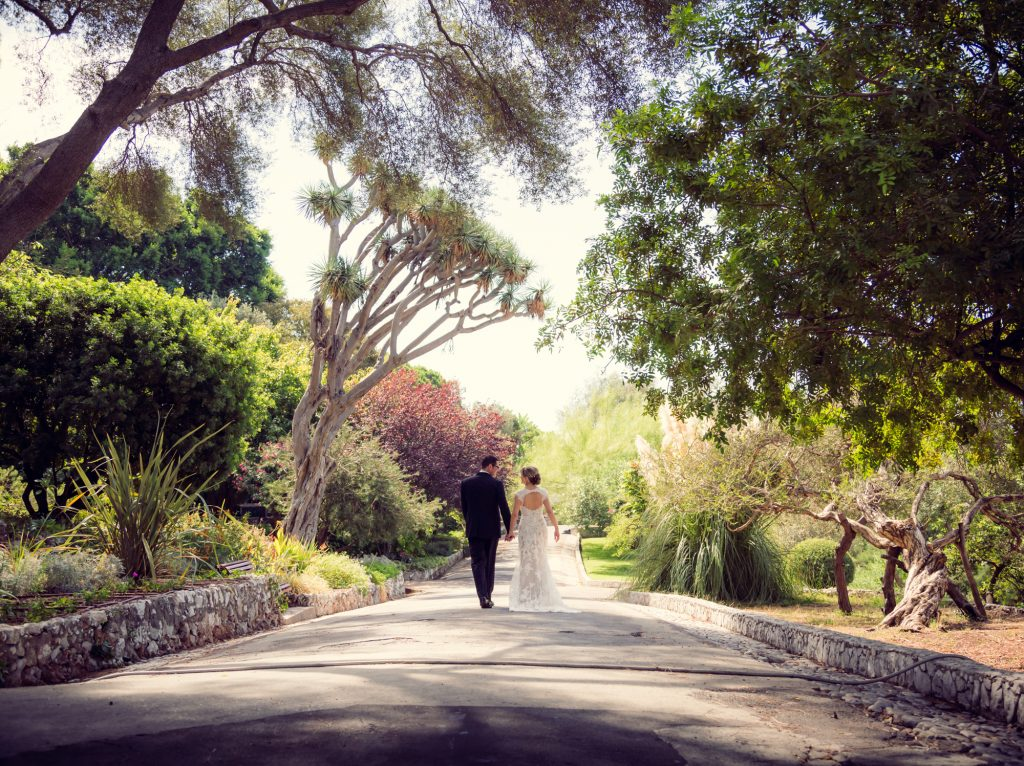 Wedding Photo Session in Alameda Gardens