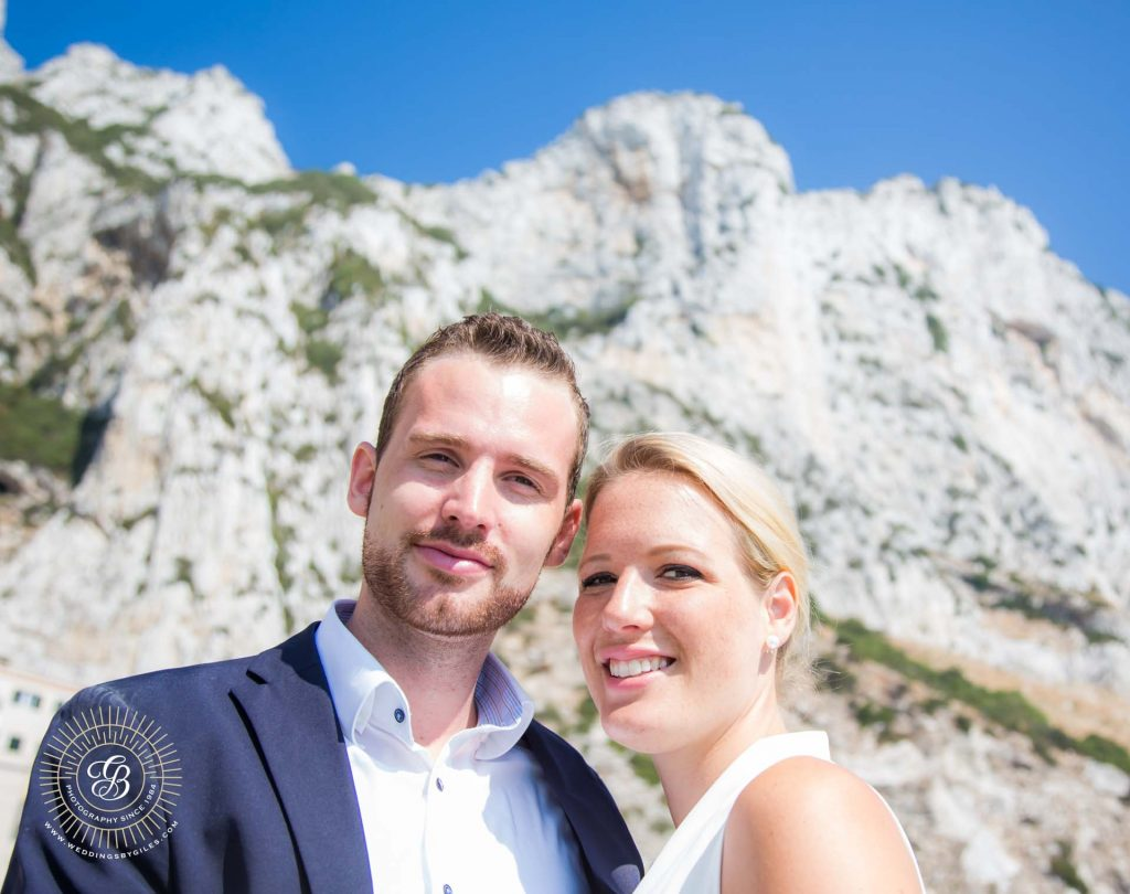 elopement on the rock