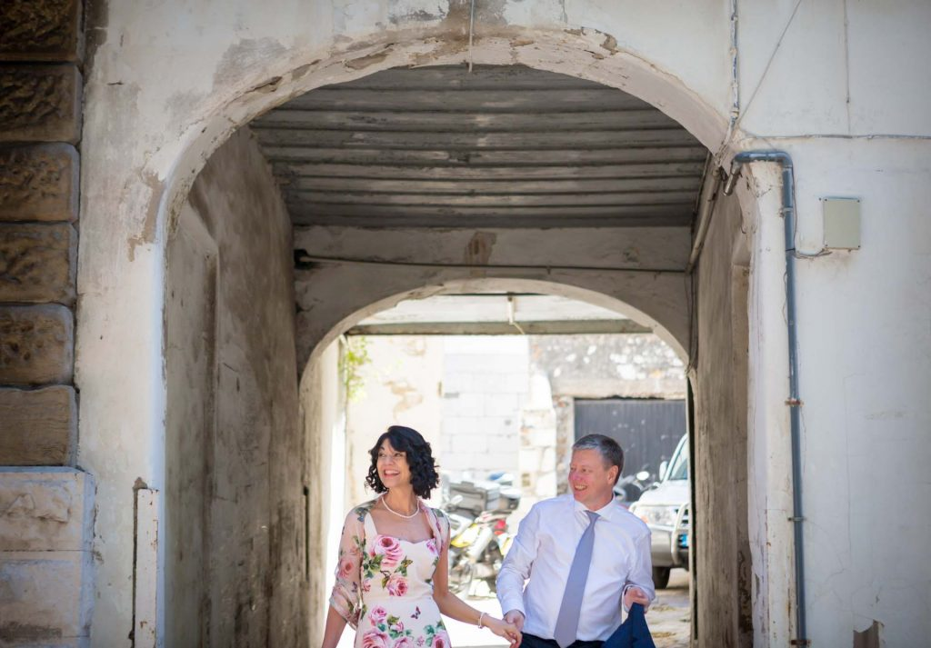 Gibraltar wedding photo