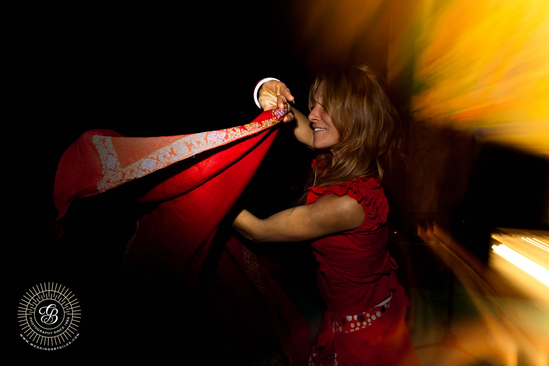 swirling cape Andalucian style