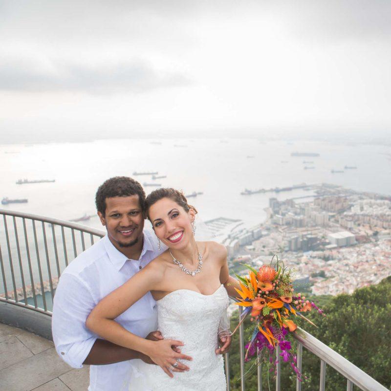 Gibraltar wedding photo review
