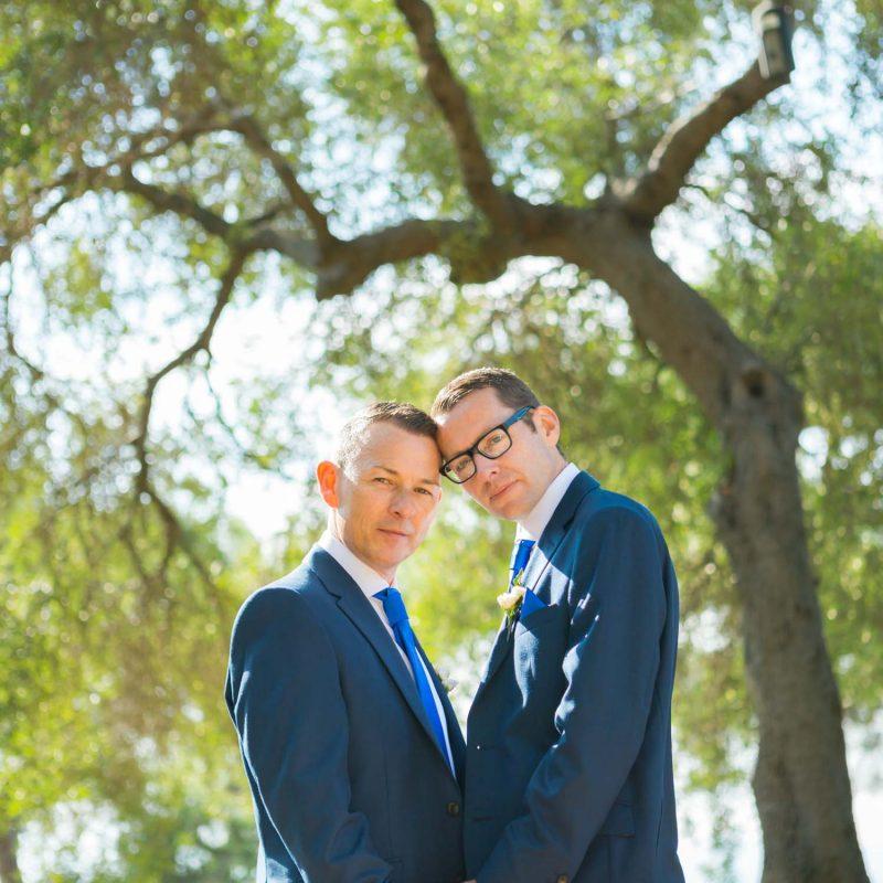 same-sex wedding photo review